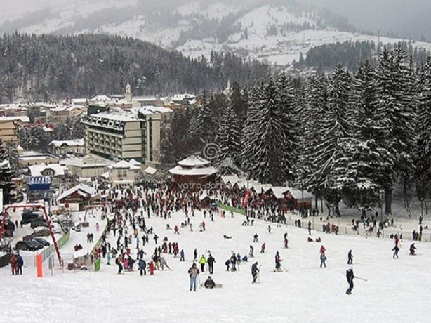 Ski in statiune